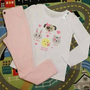 The Children's Place 2-piece Outfit NWT Size 5T